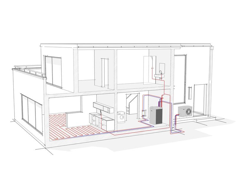 Stiebel-Eltron pompa-ciepla w budynku